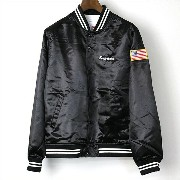 Supreme シュプリーム 15SS Satin Club Jacket ブラック L【中古】