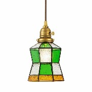 Stained glass-pendant Helm 電球無し ペンダントライト AW-0372Z送料無料 ステンドグラス LED アンティーク ガラス レト...