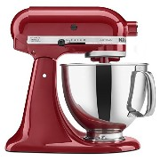 KitchenAid KSM150PSER Artisan Stand Mixer with Pouring Shield, 5 Quarts, Empire Red [並行輸入品]