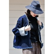 【ASHELY ROWE】 Short Robe Coat◆【スピック&スパン/Spick & Span】