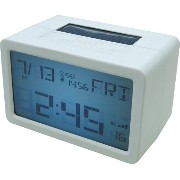 HOUSE USE PRODUCTS(ハウスユーズプロダクツ) LCD表示 置き時計 HYBRID CLOCK FRISCO WHITE ACL072 [正規代理店品]