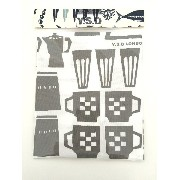 Y.S.D COFFEE No.5 tea towels