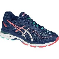(取寄)アシックス レディース Gel-Kayano 23 ランニングシューズ Asics Women Gel-Kayano 23 Running Shoe Poseidon/Silver/Cockatoo