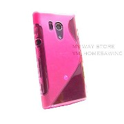 XPERIA acro HD アウトドアスタイル カバー ケース (docomo SO-03D / au IS12S 対応) Outdoor Style TPU Cover Case 【Clear Pink(ピンク...