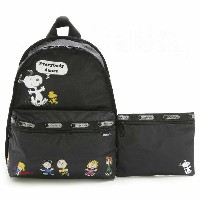 【30%OFF】LeSportsac 7812 G062 FRIEND PARADE ベーシックバックパック BASIC BACKPACK リュックサック バッグ かばん カバン ...