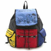 【30%OFF】LeSportsac 7839 G060 SNOOPY AND FRIENDS ボイジャー バックパック VOYAGER BACKPACK リュックサック バッグ かばん カ...