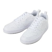 【NIKE】 ナイキ NIKE COURT BOROUGH LOW SL コート バーロウ ロウ SL 844883-111 16FA 111WHITE/WHITE