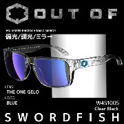 OUT OF (アウトオブ) サングラス SWORDFISH W4S1005 ClearBlack THE ONE GELO 偏光/調光/ミラー【RCP】