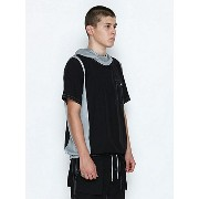 NUMBER (N)INE POCKETABLE HOODED PULLOVER SHIRTS S/S_NYLON ナンバーナイン【先行予約】*【送料無料】