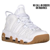 (取寄)ナイキ メンズ エア モア アップテンポ Nike Men's Air More Uptempo White White Bamboo Gum Light Brown
