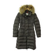 【MONCLER】【GENEVRIER】【'14AW】『ジェノブリエ ダウンコート size0』レディース 1週間保証【中古】b02f/h17A
