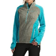 ラスポルティバ La Sportiva レディース トップス シャツ【Stardust Pullover Jacket - Polartec Thermal Pro, Zip Neck】Mid Grey