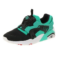 プーマ DISC BLAZE ELECTRIC メンズ Spectra Green-Puma Black-Puma White