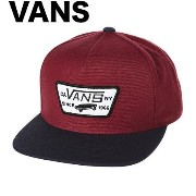 Vans Full Patch Snapback Hat Cap Red Evil Blue キャップ 並行輸入品