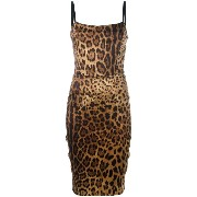Dolce & Gabbana Vintage cheetah printed dress