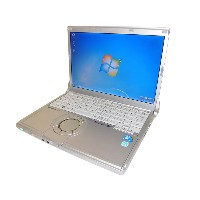 Windows7 Panasonic Let'sNote CF-N8CF-N8HCCDDS 中古ノートパソコンCore2Duo P8700 2.53GHz/2GB/250GB/Win7Pro/HDMI