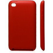 iPod Touch 4 Silicone Case(Red ) Touch 4 シリコンケース チョコレート豆 レッド (362-10)