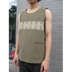 ★Special Sale!! 20%OFF!!★ wisdom tank top khaki m