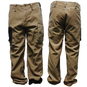 CORDUROY CARGO PT ベージュ one by one clothing