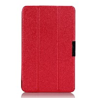 Ultra-thin Tri-fold PU Leather Case Cover For Asus note M80ta