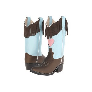 (toddler little ブーツ kid) old west kids boots western