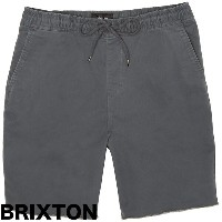 Brixton Madrid Short Charcoal S 送料無料