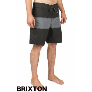 Brixton Barge Boardshort Washed Black/Black W30 ボードショーツ 送料無料