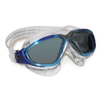 Aqua Sphere Vista Goggle - Smoke Lens - Aqua Great for Swimming and Water Sports