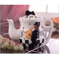 Jazz Band Tea Pot , Teaセット