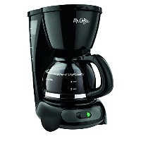 【並行輸入】Mr. Coffee TF5 4-Cup Switch Coffeemaker, Black コーヒーメーカー