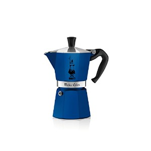 【並行輸入】Bialetti 06907 6-Cup Espresso Coffee Maker, Blue コーヒーメーカー