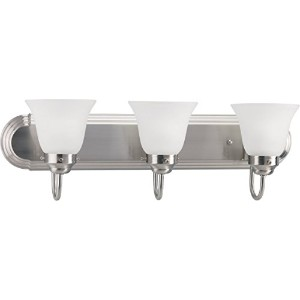 Homestyle hs27009–093つライトBathブラケット( CFL ) in Brushedニッケル