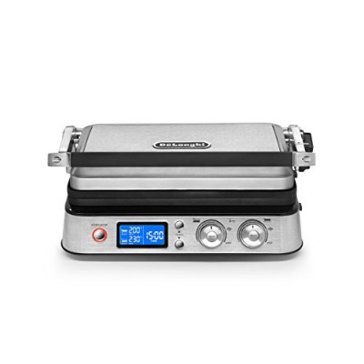 DeLonghi America CGH1020D Livenza All Day Combination Contact Grill and Open Barbecue, Stainless...