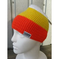 neff beanie white/yellow/orange