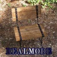 REALMODE STEELBELT Series ガーデニングチェアー chair600