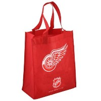 NHL エコ リサイクル トートバッグ レッドウィングズ Detroit Red Wings Red Reusable Tote Bag