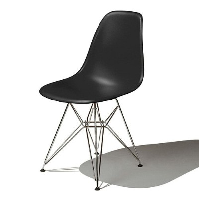 Eames Shell Chair イームズ チェア Side Chair(DSR) /ブラック.