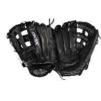 ルイスビルスラッガー レディース 野球 グローブ【Louisville Slugger Xeno Dual Post Web Fastpitch Glove】Black