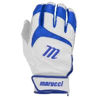 マルッチ メンズ 野球 グローブ【Marucci Signature Batting Gloves】White/Royal