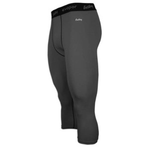 イーストベイ メンズ インナー タイツ【Eastbay EVAPOR Compression 3/4 Tights 2.0】Charcoal/Black