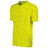 アシックス メンズ トップス Tシャツ【ASICS Lite-Show Short Sleeve T-Shirt】Sulphur Spring Heather