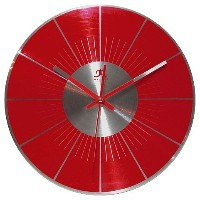 "Infinity Instruments Spangler-12"" Metal Wall Clock メタル 壁掛け時計【並行輸入】"