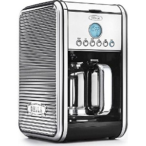 Sensio 14391 Linea Chrome, 12 Cup Coffee Maker, Black by Sensio