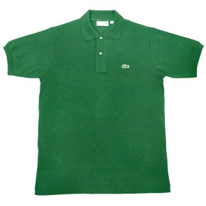 FRANCE LACOSTE(直輸入フランスラコステ) #L1212 S/S PIQUE POLOSHIRTS(半袖 鹿の子 ポロシャツ) ROQUETTE(ROCKET)(CNQ)