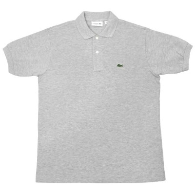 FRANCE LACOSTE(直輸入フランスラコステ) #L1264 S/S PIQUE POLOSHIRTS(半袖 鹿の子 ポロシャツ) ARGENT CHINE(HEATHER SILVER)...