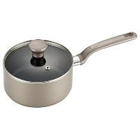 T-fal C71624 Excite Nonstick Thermo-Spot Dishwasher Safe Oven Safe Sauce Pan Cookware, 3-Quart,...