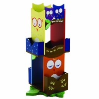 Owls Revolving Bookcase by Levels of Discovery