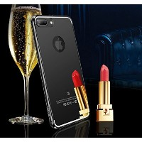 iPhone 7 Plus Mirror Case, Miniko(TM) Luxury Aluminum Ultra Thin Mirror Metal Frame Back Case Cover...