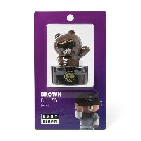 Line Friends Store Official Goods : Beat Brown DJ Brown USB (16G)