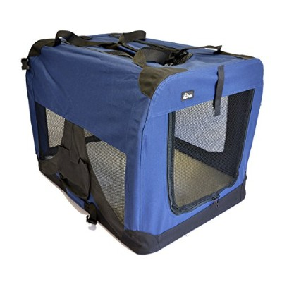 topPets Portable Soft Pet Carrier or Crate or Kennel for Dog, Cat, or other small pets. Great for...